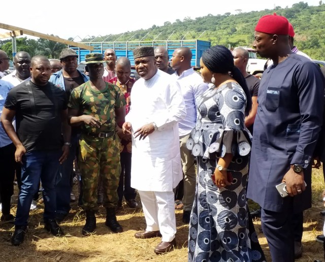 Jubilation as Awgu people assure Ugwuanyi of adequate security support