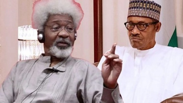 Image result for images of Soyinka tells Buhari