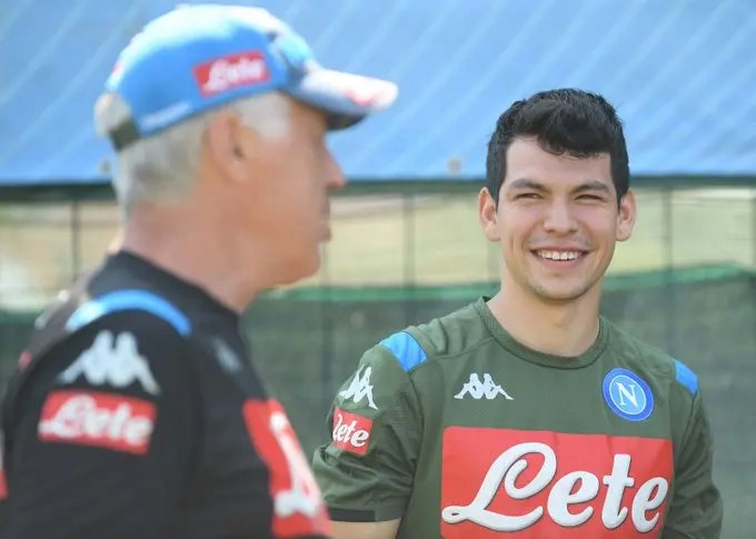 Napoli signs winger Lozano from PSV