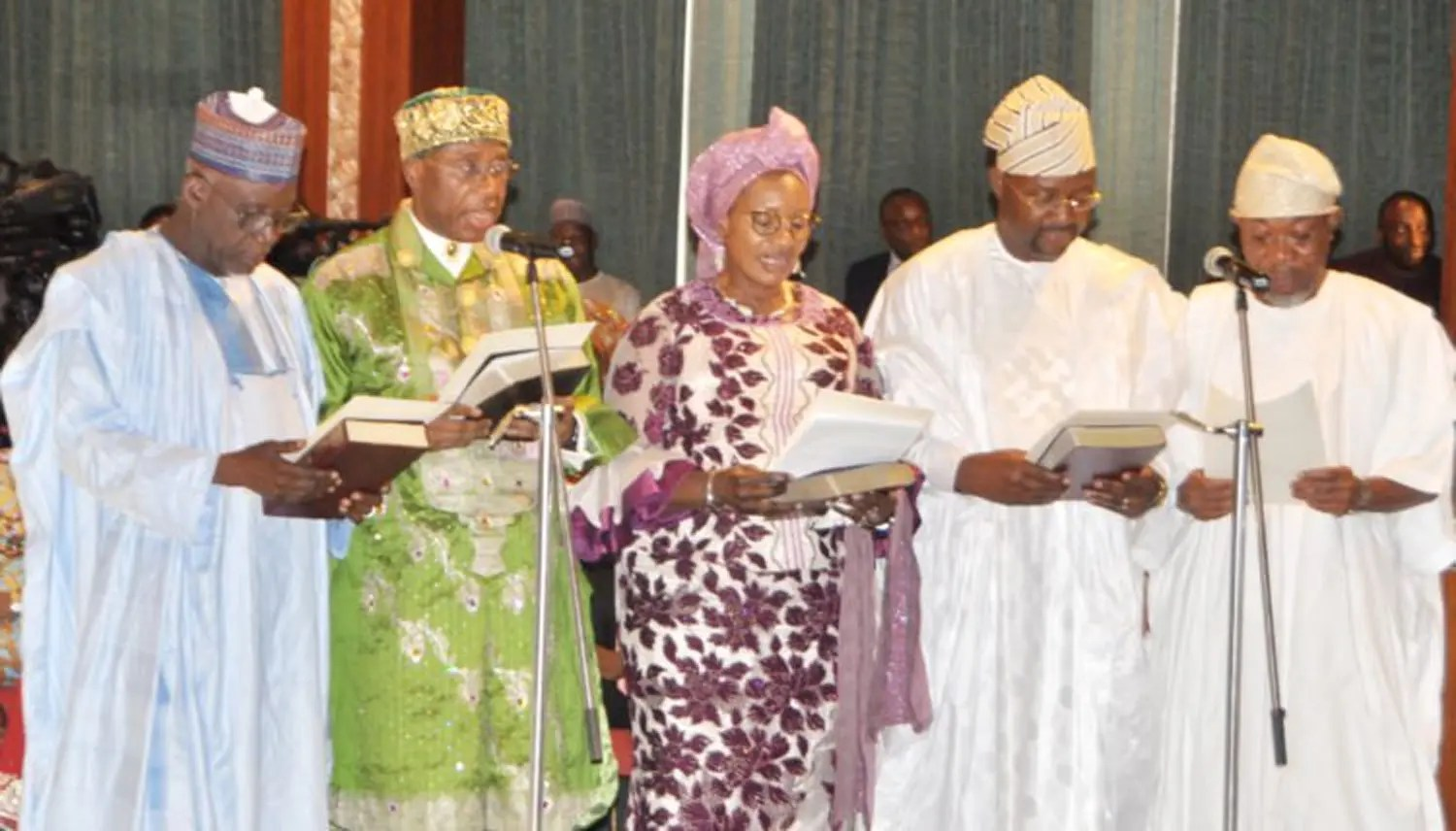 Photos: How 43 ministers take oaths of office......