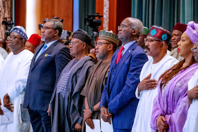 Ministers,Buhari,social Investment programme