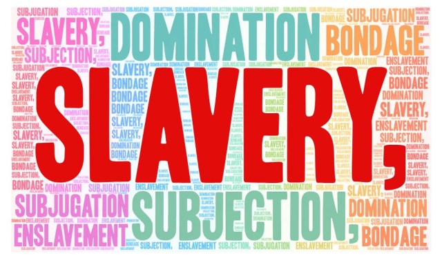 slavery, servitude