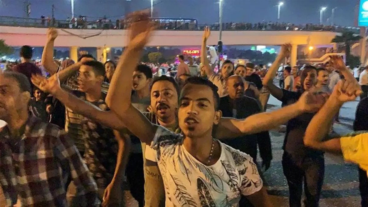 Thousands of Egyptians join anti-Sisi protests across country