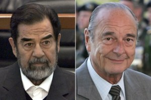 Former French President bribed by Saddam Hussein to oppose US-led Iraq war