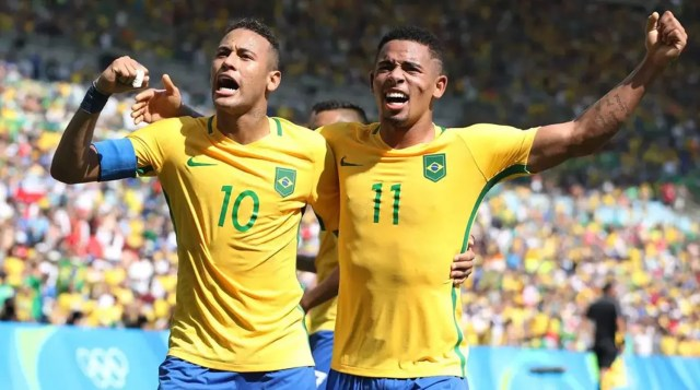 Neymar, Gabriel Jesus, Brazil