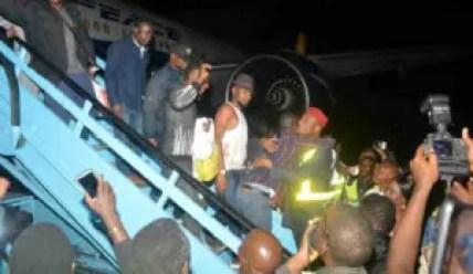 South Africa returnees