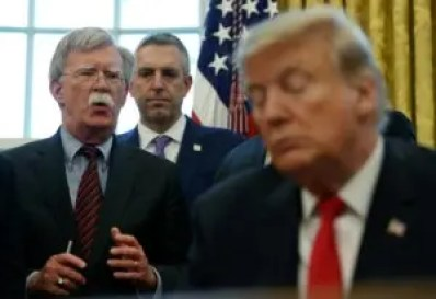 Trump, Bolton, Security adviser