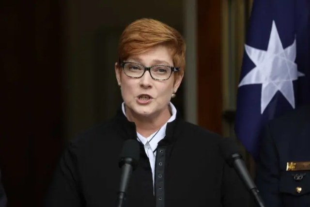 Australia says it will hold China accountable on human rights