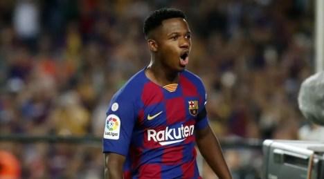 Barca teen star, Ansu Fati eligible for Spain #Nigeria 15695117375919
