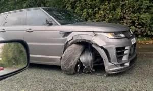 Aguero £80,000 grey Range Rover