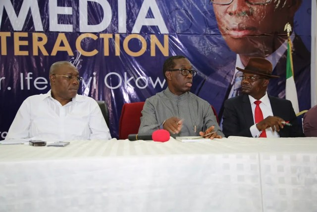Okowa urges FG to concession proposed tollgates to companies with capacity for maintaining roads