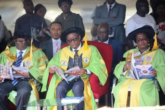 Go into entrepreneurship, Okowa urges graduates