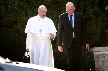 Pope Francis' chief bodyguard resigns over leaked financial scandal