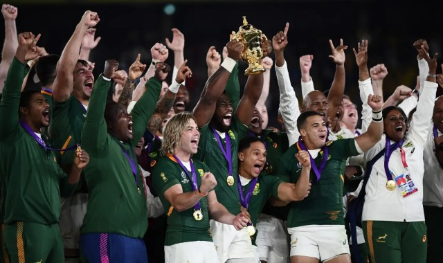 Rugby World Cup win shows what South Africa can achieve — Kolisi