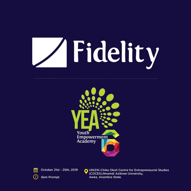 Fidelity Youth Empowerment Academy (YEA 6) Commences On October 21
