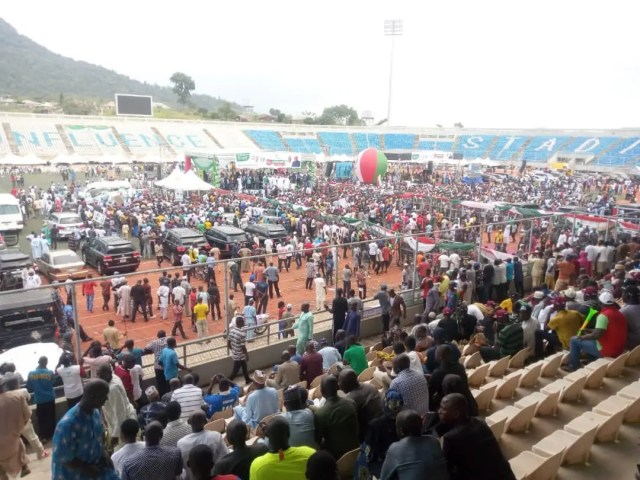 Picture APC taken before PDP campaign take off in Kogi