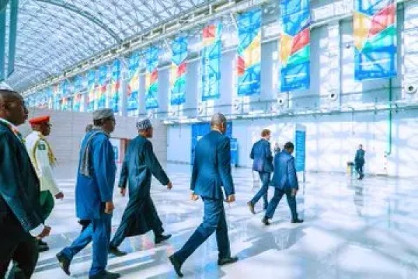PHOTOS: Buhari, Putin of Russia, others at Russia-Africa Summit