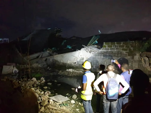 3-storey building collapsed, 3 injures in Lagos ― LASEMA boss