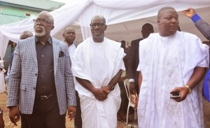 Governor Obaseki, Pinnick, others pay last respect to Oyuki Obaseki