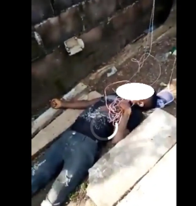 VIDEO: Suspected thief electricuted while stealing from church