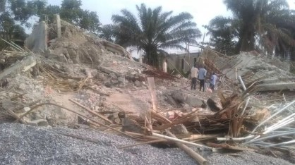 LASEMA demolishes 4 two-storey buildings in Ikoyi for failing integrity test