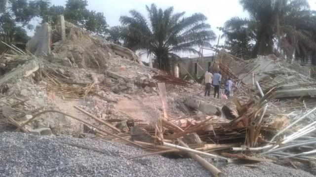 LASEMA pulls down 4 buildings in Ikoyi for failing integrity test