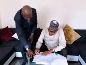 just in buhari signs amended deep offshore act in london