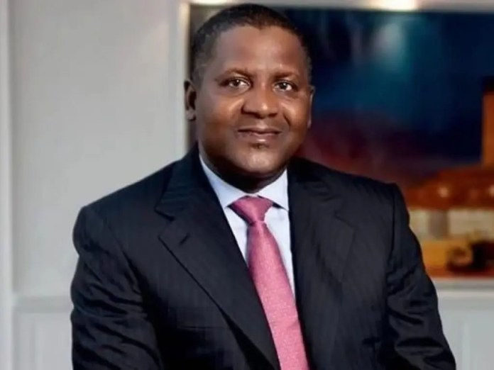 Dangote urges private sector players to commit 1% of all profits to fund health