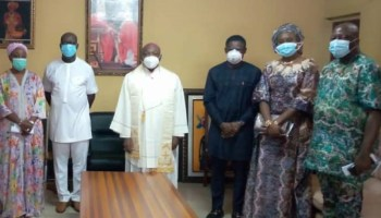 Edo 2020: Obaseki visits religious leaders, sues for peace ahead of guber poll