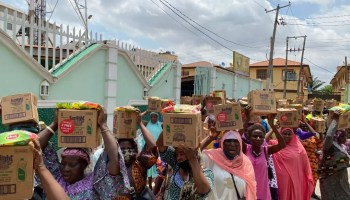 Lagos Food Bank Initiative supports communities with food this #MonthOfGood*