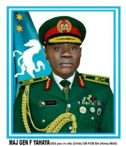 Insurgency, Farouk Yahaya, troops in theatre of operations