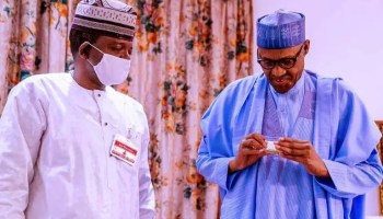 Security Challenges: Matawalle briefs President Buhari, lauds security agencies