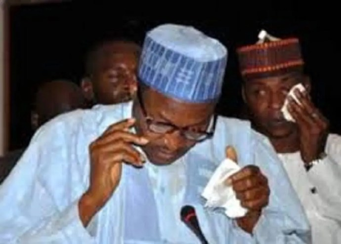 Buhari cry