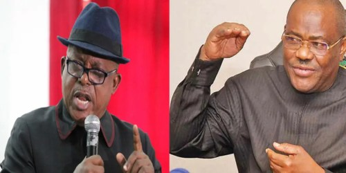 I won't join issues with you, Secondus replies Wike over 'liar' tag