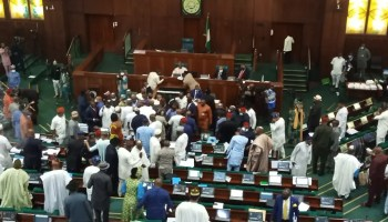 BREAKING: Another fight erupts in House of Reps over electoral bill report