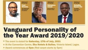 Watch Vanguard Personality Awards