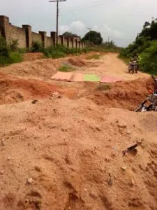 Abia community cries out for help as erosion threatens only access road