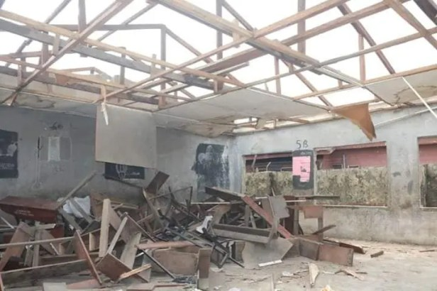 Delta govt to renovate school where children were left outside after rooftop was removed