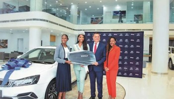 Geely 'spoils' Most Beautiful Girl Pageant with motorcade, beach fun