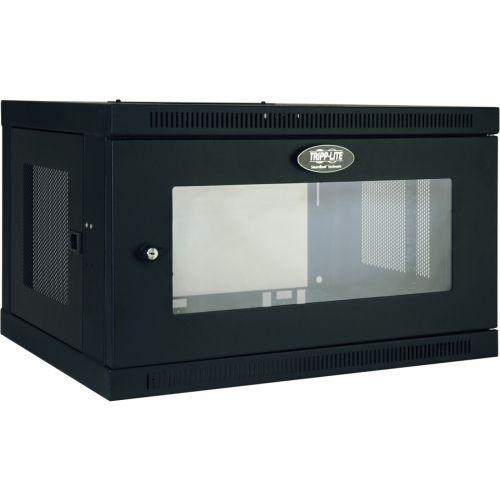 Tripp Lite 6U Wall Mount Rack Enclosure Server Cabinet w/ Acrylic Window - 6U Wide x 16.50