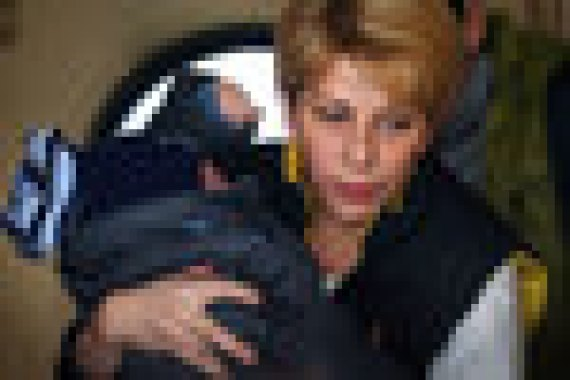 Елизавета Глинка неоднократно посещала места боевых действий в Сирии и на востоке Украины. Фото 30.10.2014 г.