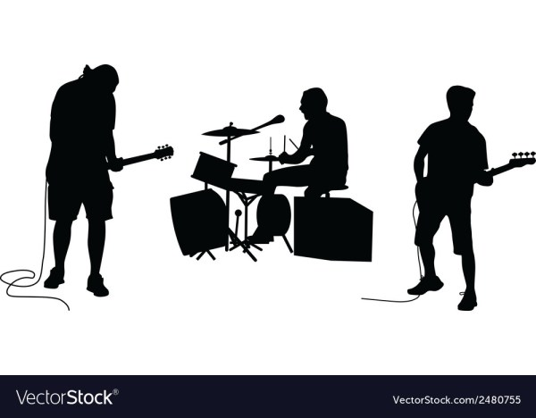 Music band Royalty Free Vector Image - VectorStock