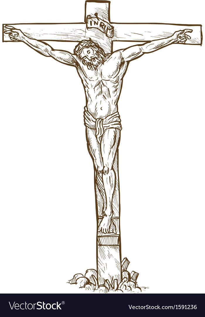 Black And White Clip Art Christus