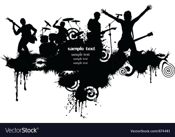 Rock band Royalty Free Vector Image - VectorStock