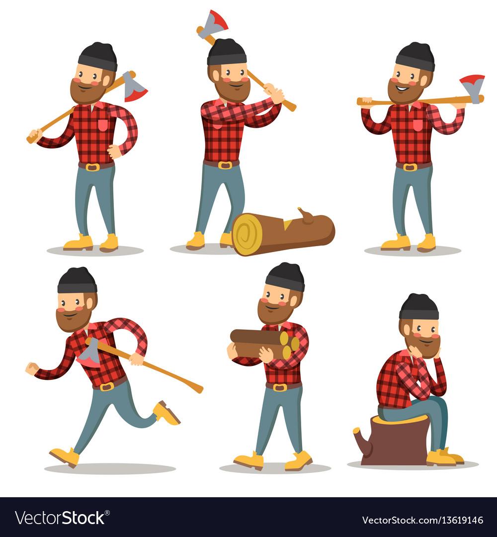 Lumberjack Cartoon Character Wwwpixsharkcom Images