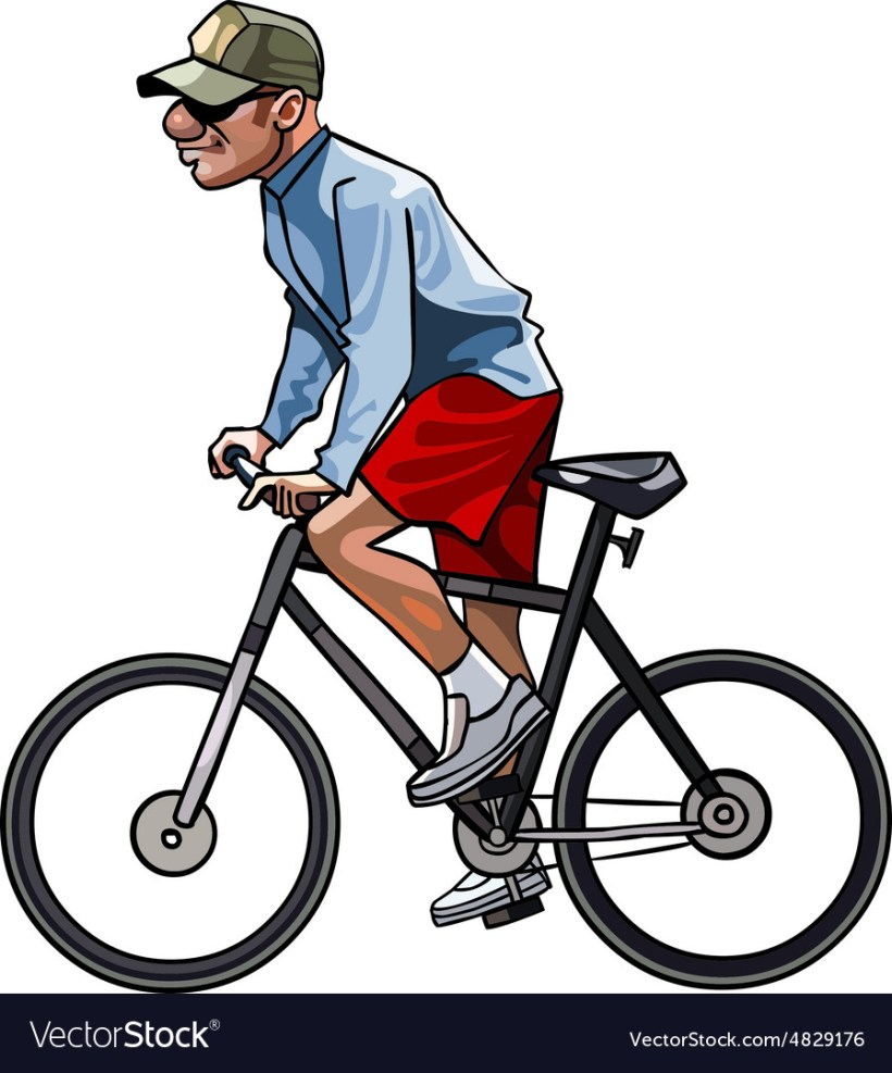 Cartoon Images Of A Bicycle | Wallpaper Images