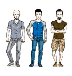 Image result for Handsome men vector