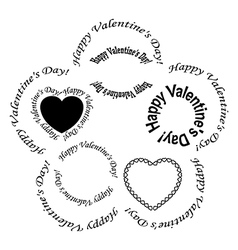 Romantic Post Stamps For Valentine Day Royalty Free Vector