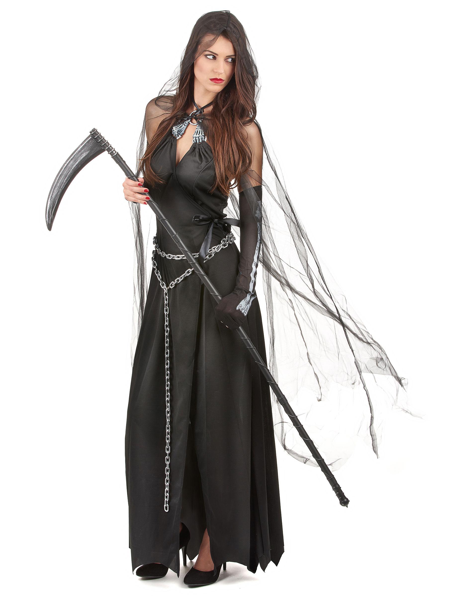 Verkleidung Als Frau Der Finsternis Zu Halloween Kostme