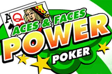 Aces and faces 4 play power poker